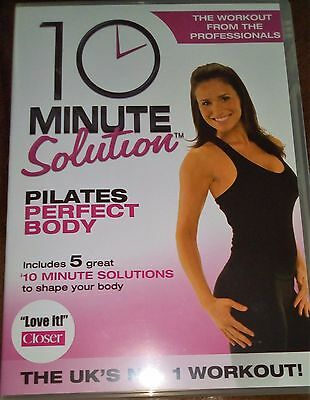 10 Minute Solution - Pilates Perfect Body DVD Workout For Women Belly Arms