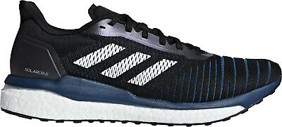 adidas Solar Drive Boost Mens Running Shoes Black White Sports Sneakers Trainers