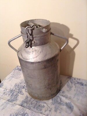 Vintage French Milk Churn - Wedding, Garden Planter, Stick Umbrella Pot (1995)