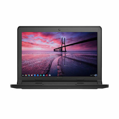 "Dell Chromebook 3120 11.6"" Intel Celeron N2840 2.16GHz 4GB 16GB SSD Laptop XDGJH"