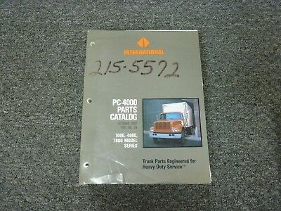 1995-1998 international 4700 4800 4900 truck parts catalog manual 1996 1997