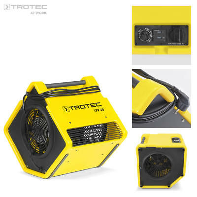 TROTEC Ventilateur Turbo TFV 30 | Radial | 3 vitesses de ventilation | 2200 m³/h
