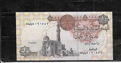 Egypt Egyptian #50M 2008 Uncirculated Pound Banknote Paper Money Currency  Note