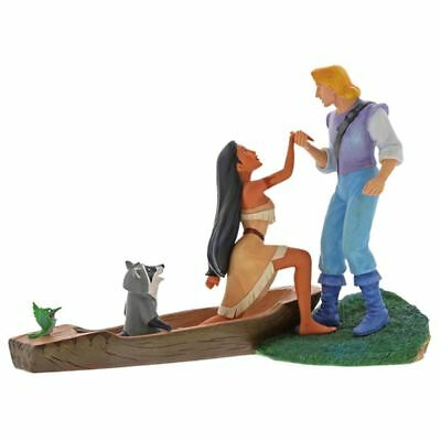 Official Disney Enchanting Hear with the Heart Pocahontas Collectable Figurine