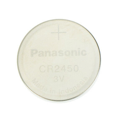 1Pc 3V Battery For Panasonic CR2450 2.4cm *0.5cm Battery Button Cell CoinCHW