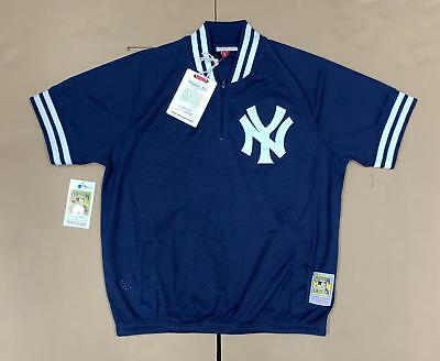 79c0f10d1 Mitchell   Ness New York Yankees 1998 Quarter Zip Authentic Jersey Men s  Medium