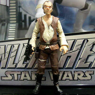 STAR WARS the vintage collection DR. EVAZAN cantina patron ANH tvc VC57