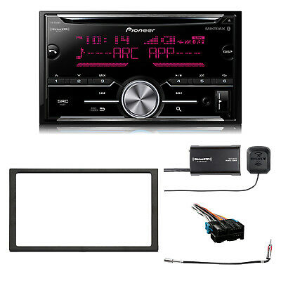 CD Bluetooth SiriusXM-Ready w/ Tuner Radio, Dash Kit, Radio Harness, Adapter