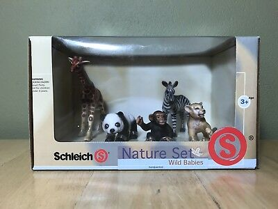 Schleich Nature Babies Nature Set - New In Box - Item No. 40927
