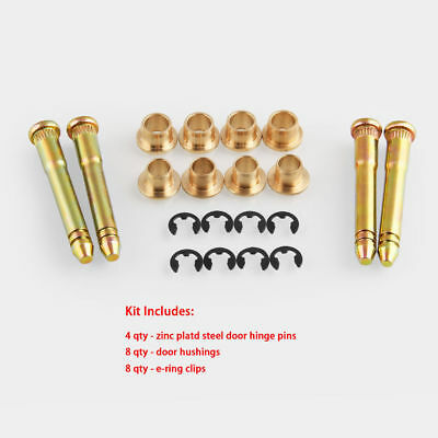 Door Hinge Pin & Bushing Kit For Honda Civic Accord CRX CR-V CX DX EX SI B16 D16