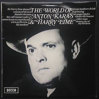Anton Karas THIRD MAN LP Harry Lime Film Soundtrack Orson Welles Joseph Cotton
