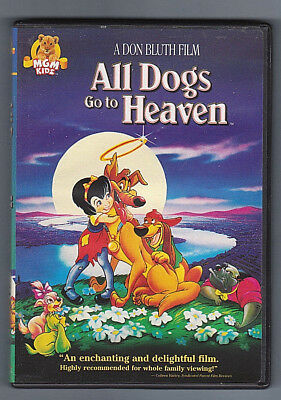All Dogs Go To Heaven (2003) DVD ~ Animated
