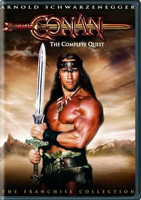 CONAN COMPLETE QUEST New Sealed DVD Both Films