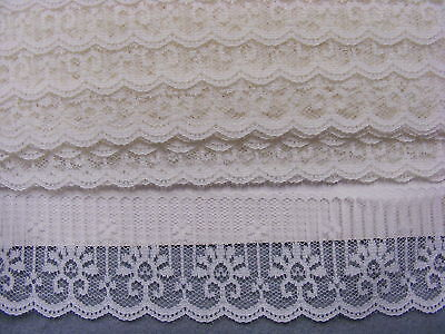 Flat Lace Cream  - 10 metres  (723)