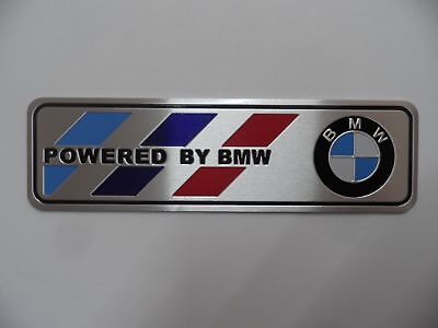 BMW Motorsport, Alu 3D Aufkleber Sticker Emblem ///M Power Performance Plakette