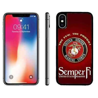 USMC Marines Corps Semper FI Phone Case Cover For iPhone 6s 7 8 plus X Xr Xs max