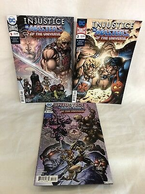 DC Injustice vs Masters of the Universe #1-6 (#1-CVR A) FREE SHIPPING