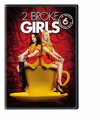 2 Broke Girls: The Complete Sixth Season 6 Six (Final Season) NEW