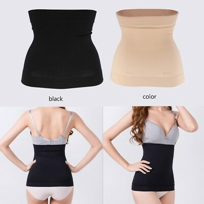 Womens Belly Band Belt Body Shaper Cincher Slimming Tummy Postpartum Recovery US