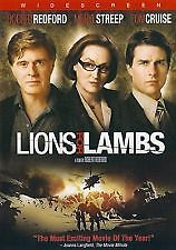 Lions For Lambs : Widescreen (DVD, 2008)  LIKE NEW ... R1