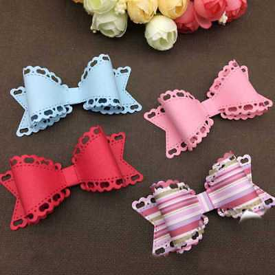 Bowknot Bow Metal Cutting Dies Stencil Scrapbooking Card Album Craft Embossing