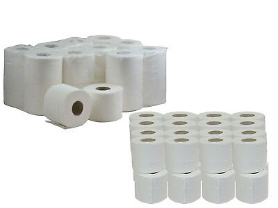 288x 2ply Toilet Tissue Quilted Paper Roll Jumbo Pack of  UK