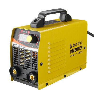 Portable ZX7 Welder 220V 10-200A MMA ARC IGBT Welding Inverter Machine Tool