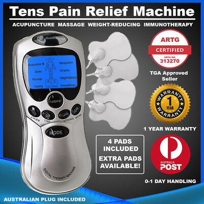 TENS Machine Digital Therapy Pain Relief: Acupuncture, Physiotherapy, Massager