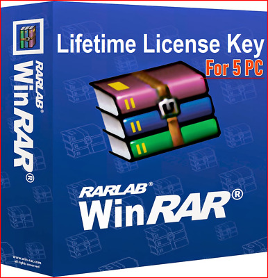 WinRar 5.61 Latest Version 2019 | Lifetime License | 5 PC | Multi-Language