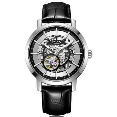 Rotary Greenwich Automatic Skeleton Dial Mens Watch GS05350/02
