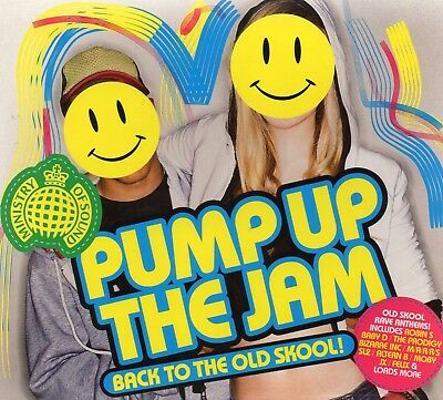 Back To The Old Skool! - Pump Up The Jam (MOS) - Various Artists (CD 2009) New