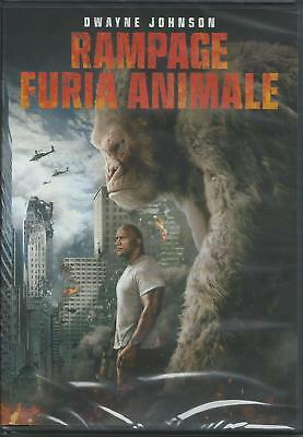 Rampage. Furia animals (2018) DVD