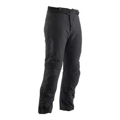 RST GT CE Textile Motorcycle Trousers Black CE Approved Short Leg 2217