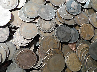 202 bronze Pennies coins 202 coins in this bulk lot lots for sale british coin