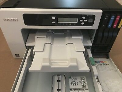 NEW RICOH Aficio SG3110dnw GelSprinter Very LOW Page Count With EXTRA Supplies!!