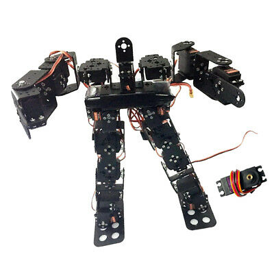 17DOF Biped Humanoid Robot Kit Free Video Tutorial Support Sing Dance