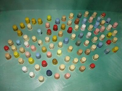LOT of 96(approx) Plastic Advertising Thimbles