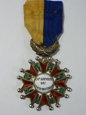 2.10) Superbe médaille carabiniers du Grand Montrouge 1887 french Medal