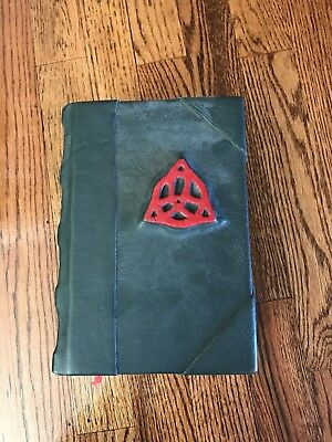 Handcrafted MINI Charmed Book of Shadows Prop Replica LEATHER