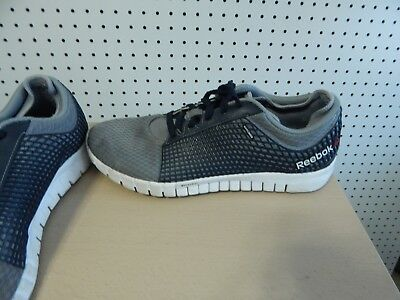 REEBOK RUNNING SHOES 023501-911 Gray Blue Athletic Tennis Men s Size ... 519d8364f