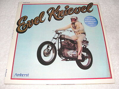 """Evel Knievel """"The Evel Knievel Story"""" 1974 LP, SEALED/ MINT!!, with Photo Insert"""