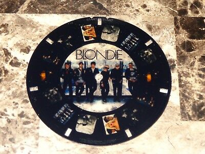 Blondie Rare Promo Prop Toy View Master Reel Deboroah Debbie Harry Chris Stein