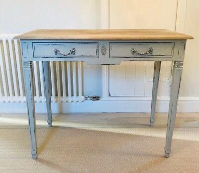 French Country / Shabby Chic Desk finished in French Grey Originally £850.00!