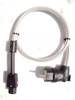 High-End Power Cord Netzkabel  1,0 m Lapp Typ Ölflex 110 CY 3x 2,5m²