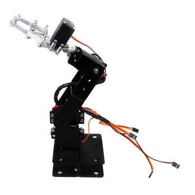 4DOF Mechanical Robot Arm Clamp Claw Manipulator DIY Kits to Arduino Robotic