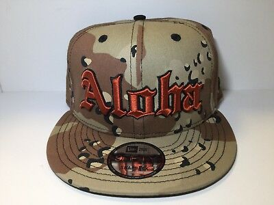 aee95d04bd0 Farmers Market Hawaii Desert Camo Aloha 2.0 Hat Ds New Era 9fifty Sold Out
