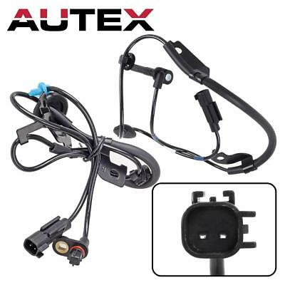 2Pcs Front Rear Right ABS Wheel Speed Sensor For 2008-2011 Mitsubishi Lancer FWD