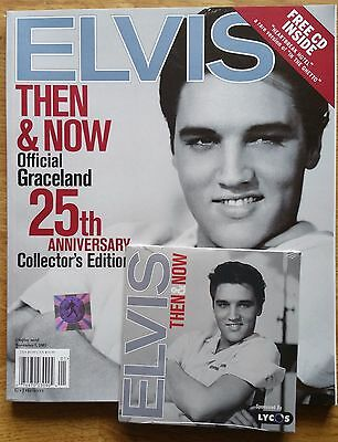 ♫ ELVIS PRESLEY 'Then and Now' SB Book with CD EPE Signature Product- lot 39 ♫