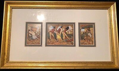 """Maxfield Parrish framed print """"Old King Cole"""" from Pa Academy Of Fine Arts"""