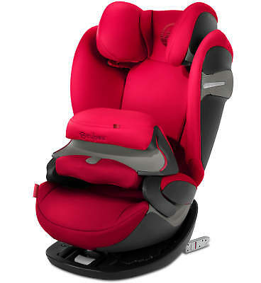 Cybex Pallas S-FIX - Rebel Red - Group 1-2-3 Children Car Seat New